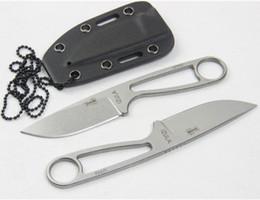 cuchillos de cuello Rebajas Cuchillo de cuello de hormiga 12992 Cuchillos de caza IZULA ESEE Cuchillo de supervivencia para acampar Cuchillos de herramientas de cuchillo de regalo de Navidad 1pc
