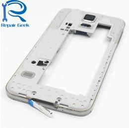 Pièces de rechange de cadre de boîtier central pour cadre Samsung Galaxy S5 SV G900F G900F G900V G9600 G900H ? partir de fabricateur
