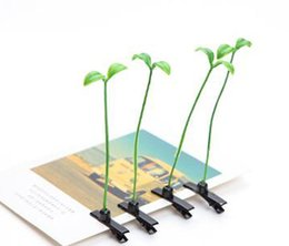 Wholesale Planting Bean Sprouts - 2016 New Lovely Novelty Plants Grass Fruit Hair Clips Headwear Small Bud Antenna Hairpins Lucky Grass Bean Sprout Mushroom Party Hair Pin