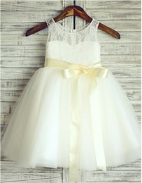 Wholesale Hand Embroidery Baby - F-0028 New Arrival Tull Ball Gown Baby Girl Birthday Party Christmas Dresses Children Girl Party Dresses Flower Girl Dresses