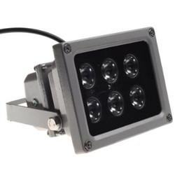 2019 illuminateur ir infrarouge vision nocturne CCTV Array IR illuminateur infrarouge lampe 6 pcs Array Led IR Extérieure étanche Vision nocturne pour caméra CCTV