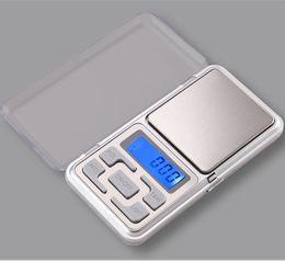Wholesale Mini Pc Fedex - 50 pcs by DHL FEDEX hot selling 200g x 0.01g Digital Balance mini electronic weighing Gram Jewelry Pocket weight sca