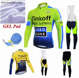Wholesale Cycling Pro Team Kit - Wholesale-Free Shipping 2016 Pro team witner thermal fleece cycling jersey kit long sleeve bike jacket maillot ciclismo keep Warm jersey