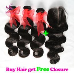 34-дюймовый блондинка индийские волосы Скидка 8A Бразильские пучки натуральных волос объемной волны с верхним закрытием шнурка Малайзийский перуанский индийский камбоджийский необработанные человеческие волосы ткет