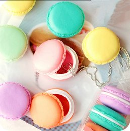 Wholesale Cute Candy Storage Box - 60pcs lot Cute Candy Color Macaron Mini Storage Box Jewelry Box Pill Case Birthday Gift