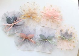 Wholesale Lace Hairclip - Hand-made flower Girls Hair Clips duck clip Girl Crown HairClip baby Hairclips Hair Flowers kids barrettes Children Hair Accessories A1395