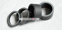 """Wholesale carbon headset - bicycle headset spacer 1 1 8"""" Full Carbon Fibre 3k Matte Spacer Headset Fork Washer 5mm 10mm 15mm 20mm"""