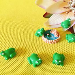 all'ingrosso ~ 20 Pz / rane verdi / casa delle bambole // miniature / bella carina / fairy garden gnome / moss terrarium decor / artigianato / bonsai / n027 * 5 da