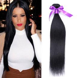 Wholesale Dhl Free Shipping Hair - cheap brazilian straight hair natural brazilian hair 4pcs straight hair extensions brazilian straight hair bundles on sale dhl free shipping