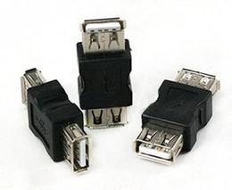 Envío gratis de buena calidad USB A hembra a un cambiador femenino del género USB 2.0 adaptador 100pcs / lot desde fabricantes