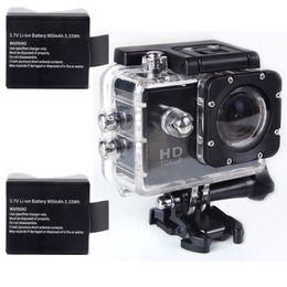 Wholesale W7 Battery - 1PCS 3.7V 900Mah Li-ion Battery for Sports Camera SJ4000 Winait DV-W7, DV-S8 Cameras, Free Shipping