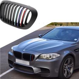 Wholesale Bmw E39 Sport - Grille Sport Stripe 3 Colors Decal Vinyl Sticker For BMW M3 E39 E46 E90 Hot Worldwide
