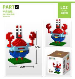 Wholesale Childrens Building Blocks - F23102 05 LOZ Diamond Blocks Building Mini Bricks Assembling Blocks Micro Plastic Brick Cartoon Toys Hobbies Childrens Gift