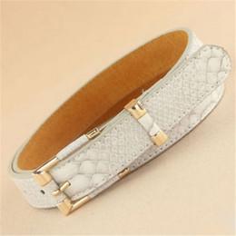 Wholesale Matches Design - novel designs Female Geniue leather real belt grain waist belt for Lady trend all-match cowskin belt cloth