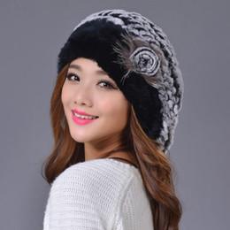 2019 boina vendida Atacado-Frete grátis Alta qualidade Marca Hot vender Real Rex Coelho mulheres inverno chapéus Moda pele de inverno mulheres boinas boina vendida barato