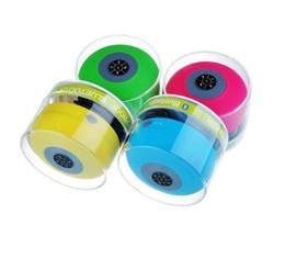 Wasserdichter drahtloser Bluetooth tragbarer Minilautsprecher Dusche-Sprecher-Freisprecheinrichtung erhalten Anrufsprecher für iphone 6 samsung 6 Farbe 200pc von Fabrikanten