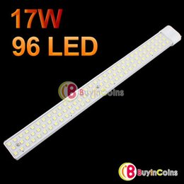 Wholesale Led Tube T8 Pure White - High power AC 220V 17W 2G11 96 LED Pure Warm White Tube Light SMD 5050 SMD Led U Lamp led fluorescent lamp