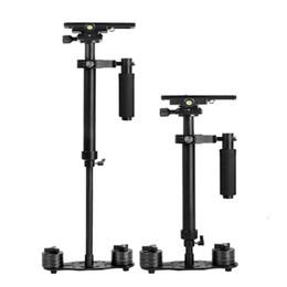 Wholesale Dslr Handheld - DHL Free Mini Portable Handheld Aluminum Stabilizer S-60 60CM For Camcorder DV Video Camera DSLR Canon Nikon