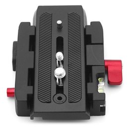 Wholesale Quick Release Plate Adapter - Quick Release Plate 577 Rapid Connect Adapter for Photography Camera Video Studio Manfrotto 577 501PL 500AH 701HDV 561B