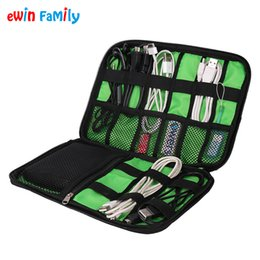 Wholesale Food Smart - Wholesale- Digital Accessories Storage Bag Smart Handbag Organizers For Phone Portable Power Bank Data USB Cable U-Disk SD Card Power Lines