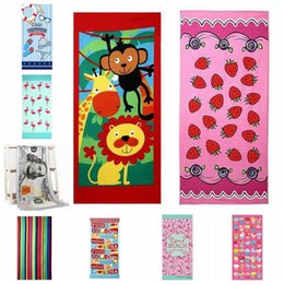 Wholesale Towels Cotton 34 - Explosions Towel Outdoor Fashion Microfiber Printing Beach Towel Sanding Softening Wide Variety Of Optional Size about 70*150 CM LDH 34