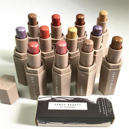 Wholesale Pro Colors - NEW Fenty Beauty Rihanna Pro Filt'r Soft Matte Longwear highlighters stick 12 colors Match Stix Shimmer Skinstick Concealer face makeup