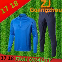 Wholesale Harry Shirts - 2017 2018 LAMELA Trainingsuit kits jacket tracksuit long sleeve Soccer Jersey Harry KANE ERIKSEN DELE SON Football shirt Futbol uniforms