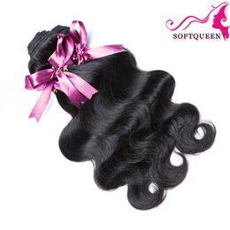 Wholesale Cheap Human Hair Bundle Deals - 8A Grade Brazilian Virgin Hair Body Wave Unprocessed Virgin Brazilian Hair Bundle Deals Cheap Brazilian Hair 3 and 4pcs Human Hair Weaves