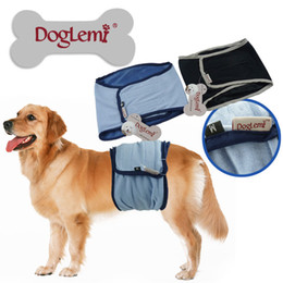 Wholesale Washable Pants - Free shipping!!!Washable Male Dog Diapers Sanitary Male Dog Protector Pant Large Male dog pants