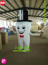 Wholesale Tooth Costume Make - 2016 New Super Hot Teeth Mascot Costume Fancy Dress EPE