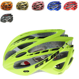 Wholesale Pink Bicycle Accessories - Wholesale-EPS Mountain Bike Bicycle Helmet Cycling Helmet Men women 5 Colors mtb Helmet Off Road Bicycle Accessories