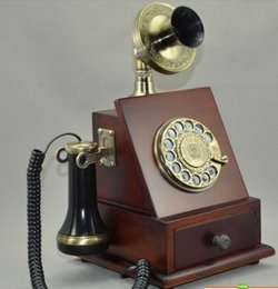 Wholesale Old Rotary Dial Telephones - Cheap rotary dial phone retro rotary phone antique telephone old telephone ringing metal