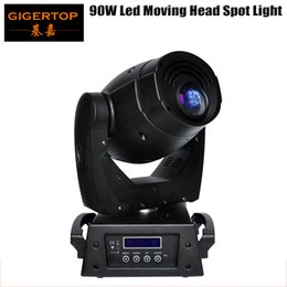 Wholesale Luminus Led - 90W Led Moving Head Spot Light USA Luminus 90W Led With Color Plate And Gobo Plate CE Certifivate