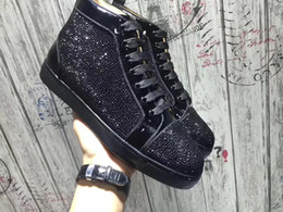 Wholesale High End Women Shoes - 2017 New top designer high-end customized luxury leather fashion leisure and Comfortable original single quality men's and women shoes 35-48