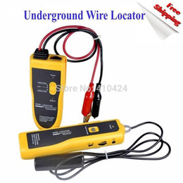 Wholesale Underground Wires - NF 816 Underground Cable Wire Locator Tracker Lan With Earphone order<$18no track