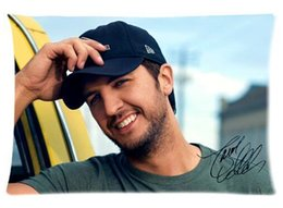 Wholesale Pattern Pictures - Charming Luke Bryan Cool Pattern Custom Pillowcase Cover Two Side Picture Size 20x30 Inch