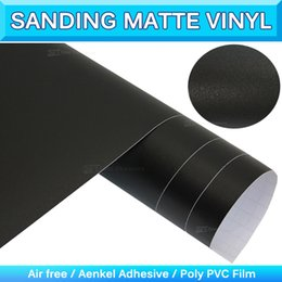 Wholesale Vinyl Wrapping Cars - Sanding Matte Vinyl Wrap Matte Color Changing Vinyl Wrapping Diamond Matte Sticker Car Wrapping Vinyl Air Free 1.52x30m 5x98ft