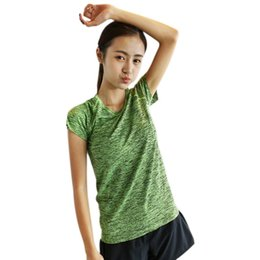 Wholesale Wholesale Training Bras - Wholesale- LYP Quick Dry 3 Pieces Women Fitness Yoga Set T-Shirt & Bra & Cropped Trousers Sport Set Gym Clothes Sport wear Training Suit