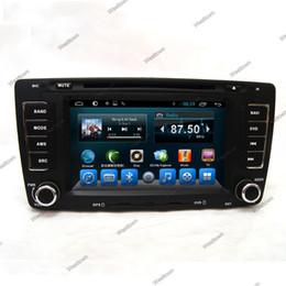 Wholesale Tv Navigation System - Car dvd gps navigation system with radio wifi 3g touchscreen cd vcd camera input for skoda octavia