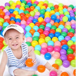 Wholesale Balls For Pit - 100Pcs Lot Ocean Play Ball Pit Balls For Pool  Pit  Tent size 5.5cm 2017 HOT SALE