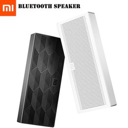 Wholesale Wireless Speakers Blue Tooth - Wholesale- Xiaomi Mi Blue Tooth Bluethooth Som Soundbar Blutooth Music Mini Wireless Portable Bluetooth Speaker For Phone Player Sound Box