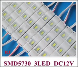 Wholesale Led Channel Letter Lights - RONGJIAN(RJ) injection LED light module for channel letter SMD 5730 LED module DC12V 1W 3 led 78mm*12mm for US and Asia