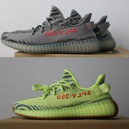 Wholesale Multi C - 2018 Best Sply 350 V2 Boost Semi Frozen B37572 Sneaker Beluga 2.0,Blue Tint CP9654 Zebra CP9652 Breds Kanye West Running Shoes