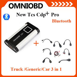 Wholesale Set Truck Cables - New Arrival 2014.2 CDP+ pro Bluetooth With Full Set Car cables  Truck cables New Vci free keygen software with CDP plus pro
