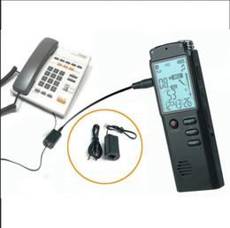 Dia de mp3 online-T60 Pantalla LCD grabadora de voz 8GB Grabadora de voz digital Reproductor de MP3 compatible A-B Función de repetición / ajuste de día y hora