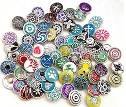 ginger snaps jewelry sale Promo Codes - good snap button 12mm small button sale 20pcs lot mix styles colors interchangeable ginger snap button charm snap jewelry freeship