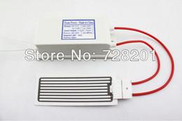 Wholesale Ozone Generator Ceramic Plate - LF-220 1105 AC220 110v 5g ozone generator,ceramic plate+power supply,air purifier,disinfector,freshens stale air,eliminates odors W  PLug ,