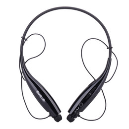 Bluetooth halskopfhörer online-Outdoor-Sport-Stereo-Headset In-Ohr-Wireless-HV-800 Nackenbügel-Stil Bluetooth 4.0 + EDR-Musik-Kopfhörer-Kopfhörer mit Mikrofon
