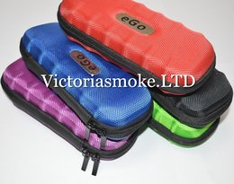 Wholesale Ego Leather Carry Case - Fedex Free Colorful Ego Case Ego Leather New Zipper Case Bag Electronic Cigarette Carry Bag with 9 different colors top quality