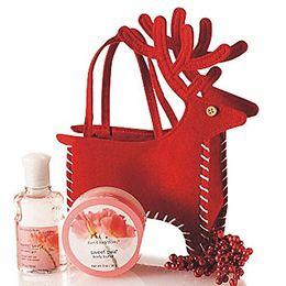 Рождественские угощения онлайн-Рождественские конфеты Сумки Санта-Дир Оленей Ручной мешок Подарки Держатель Рождество Подарочные сумки Карманные Великие идеи подарков